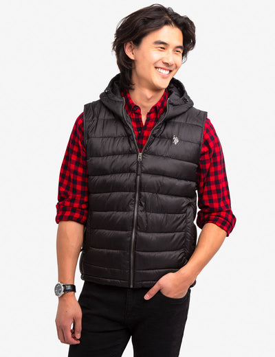 HOODED VEST - U.S. Polo Assn.