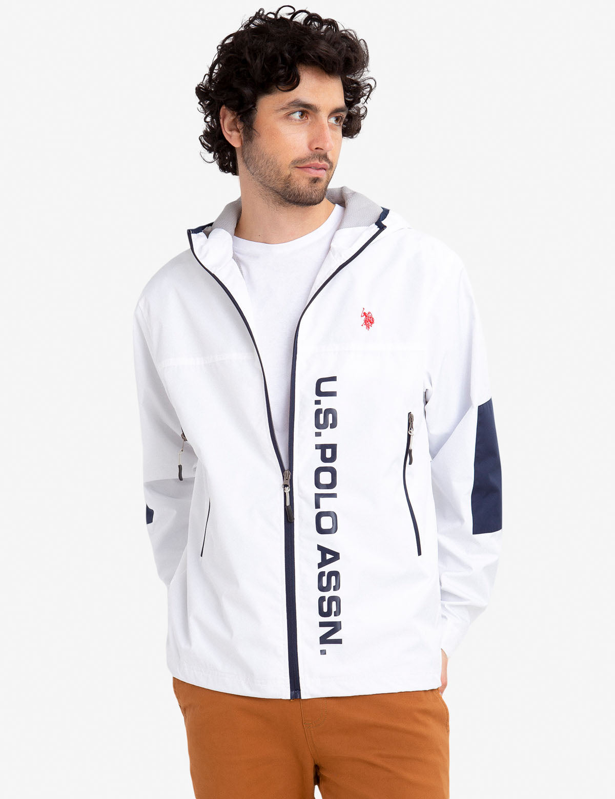 GRAPHIC LOGO WINDBREAKER - U.S. Polo Assn.