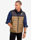 ESSENTIAL COLORBLOCK PUFFER VEST - U.S. Polo Assn.