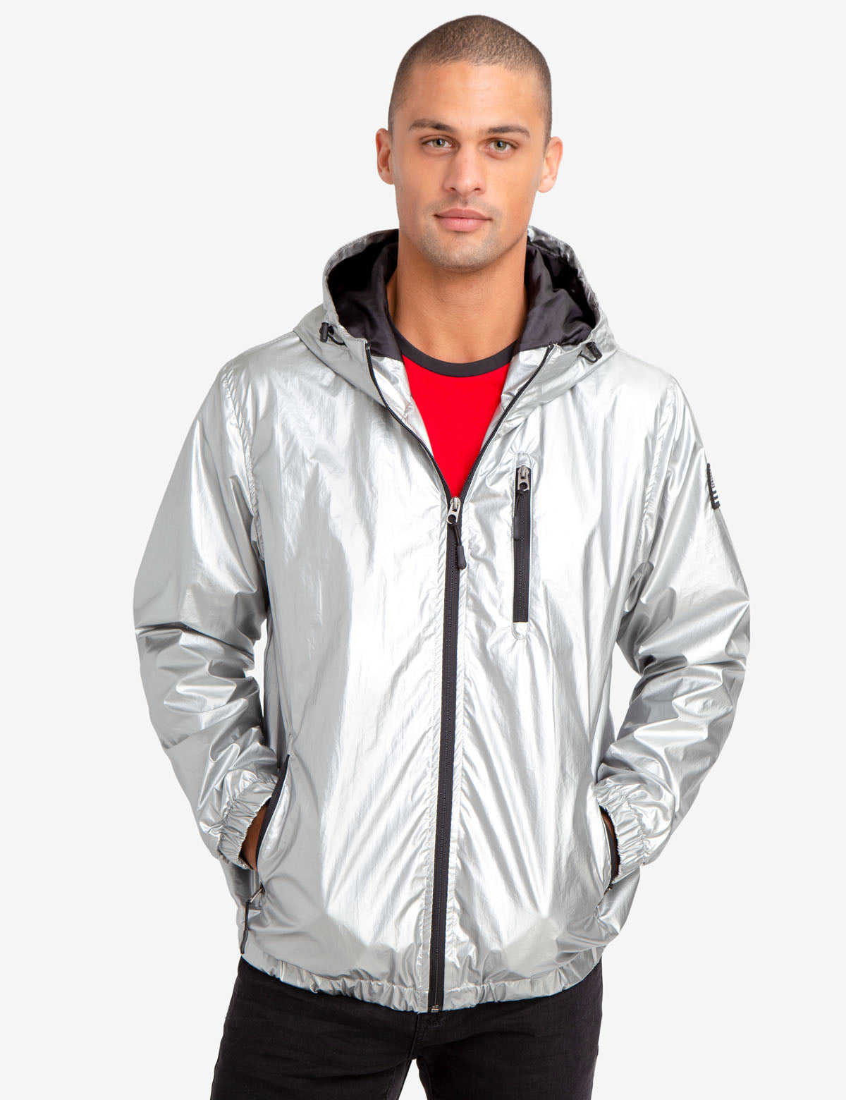 METALLIC WINDBREAKER