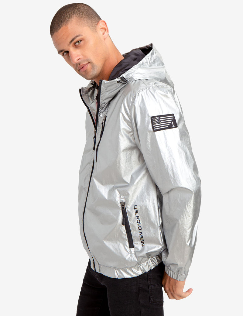 METALLIC WINDBREAKER - U.S. Polo Assn.