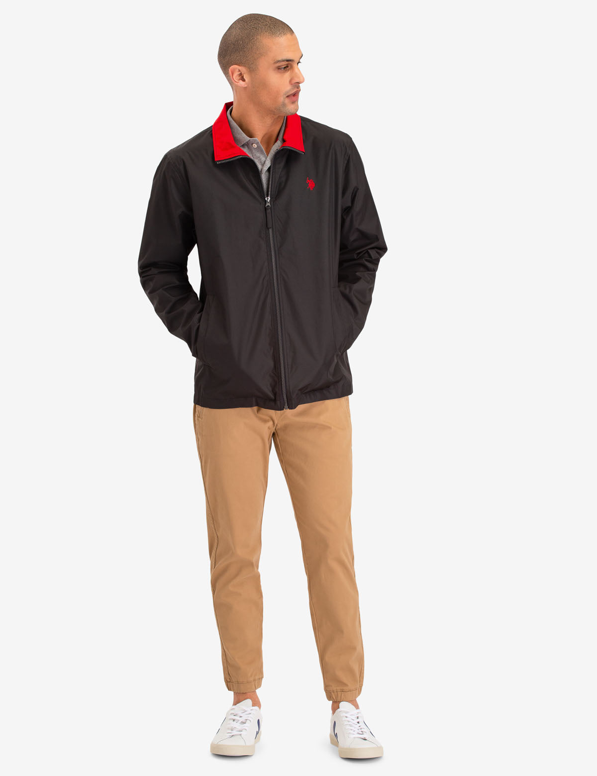 ESSENTIAL WINDBREAKER - U.S. Polo Assn.