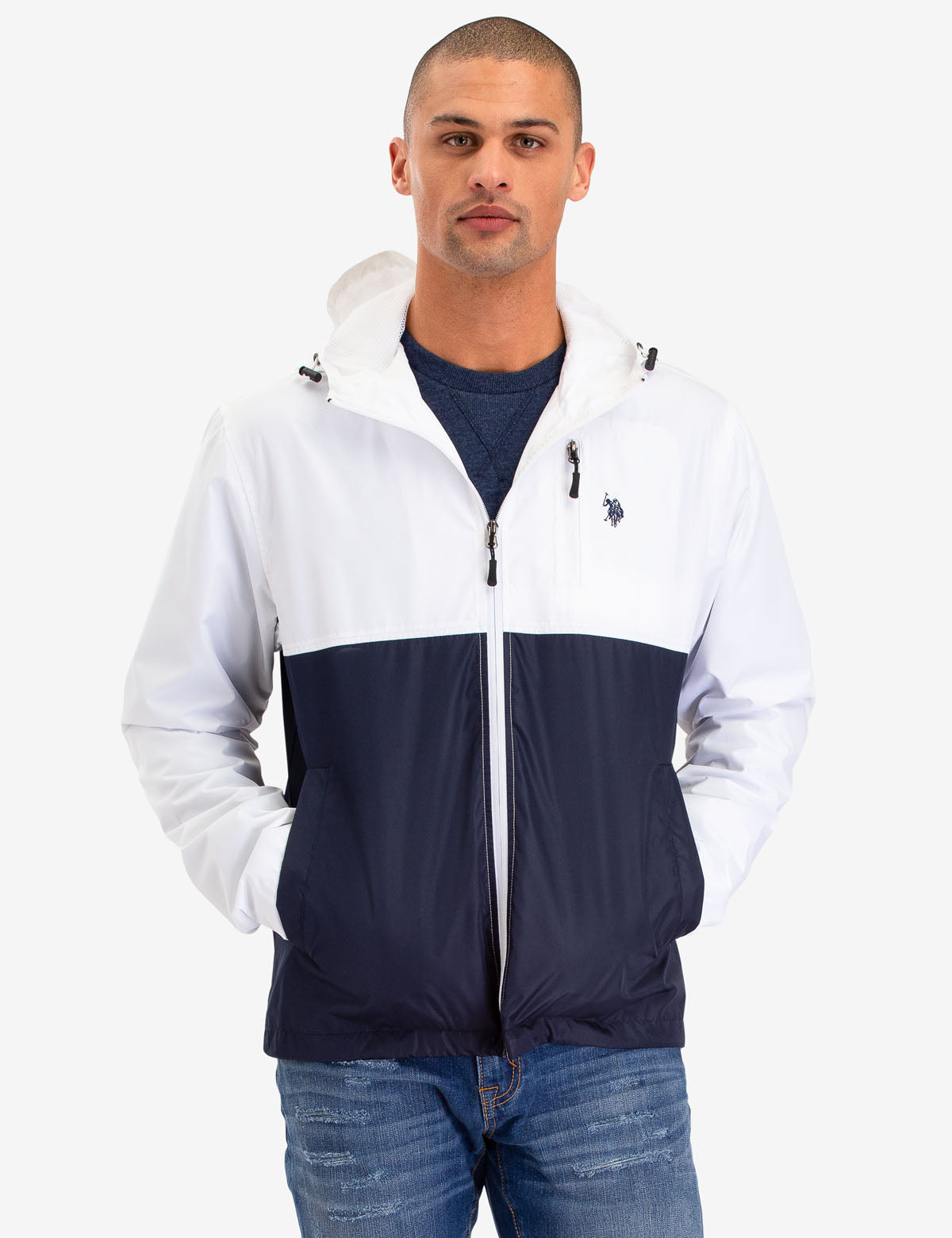 COLORBLOCK WINDBREAKER - U.S. Polo Assn.