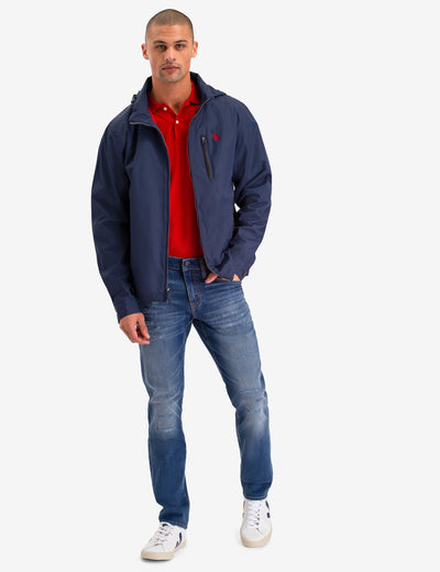 WINDBREAKER WITH PIPING - U.S. Polo Assn.