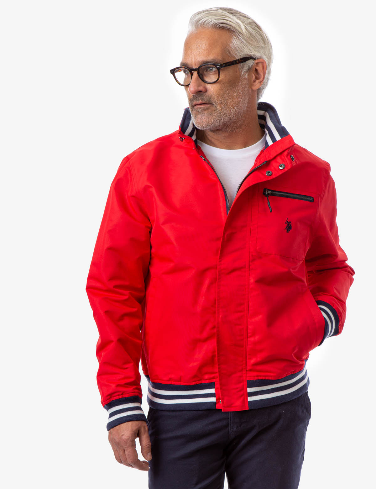 YACHT JACKET WITH PATCH POCKET