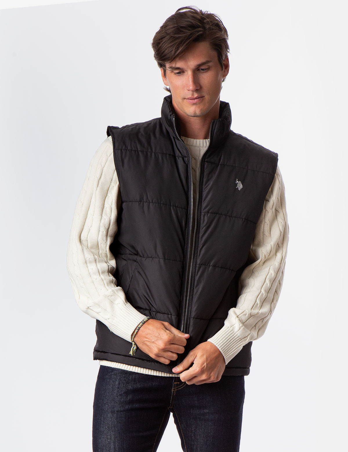 SIGNATURE VEST WITH POCKETS