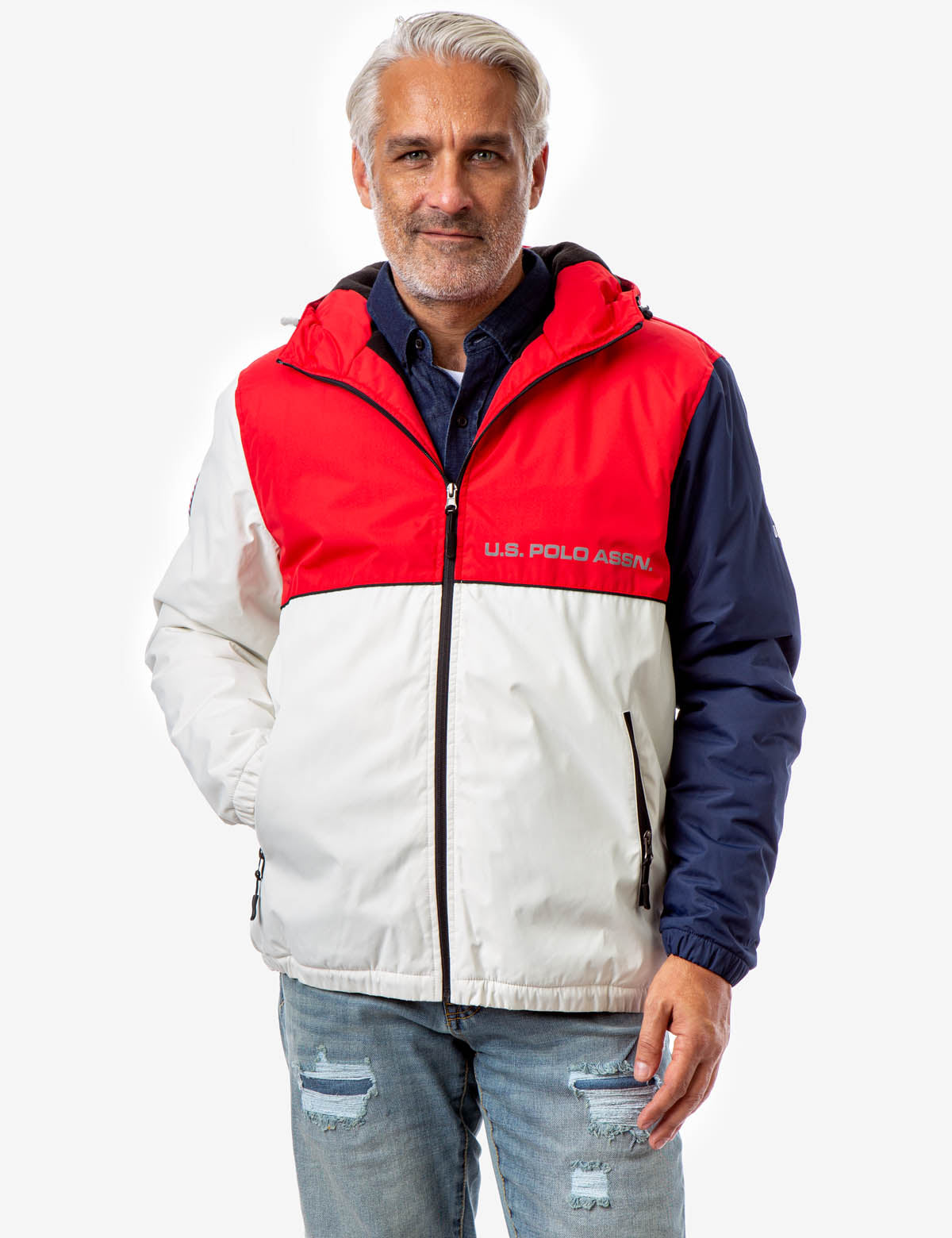 COLORBLOCK AMERICANA WINDBREAKER - U.S. Polo Assn.