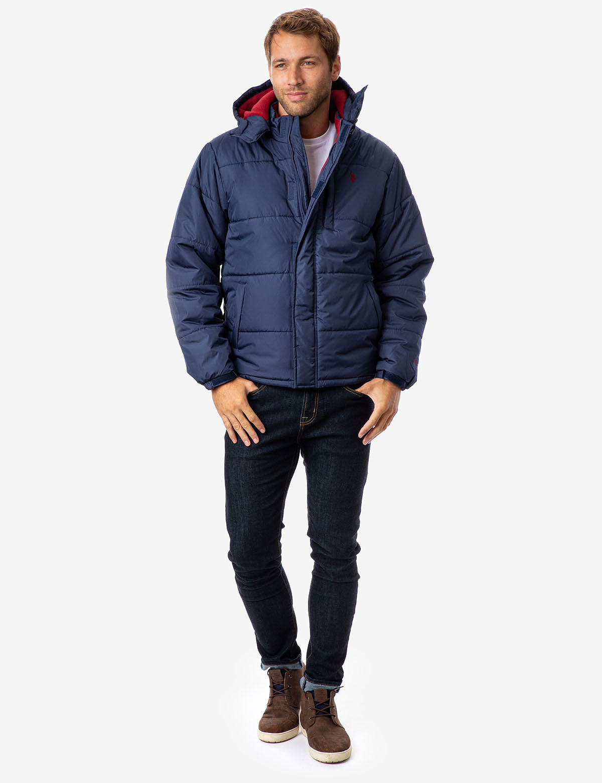 CLASSIC HOODED BUBBLE JACKET - U.S. Polo Assn.