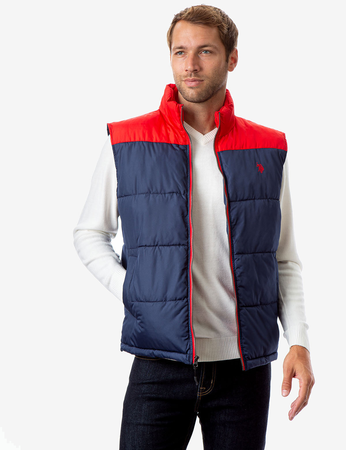 COLORBLOCK VEST - U.S. Polo Assn.
