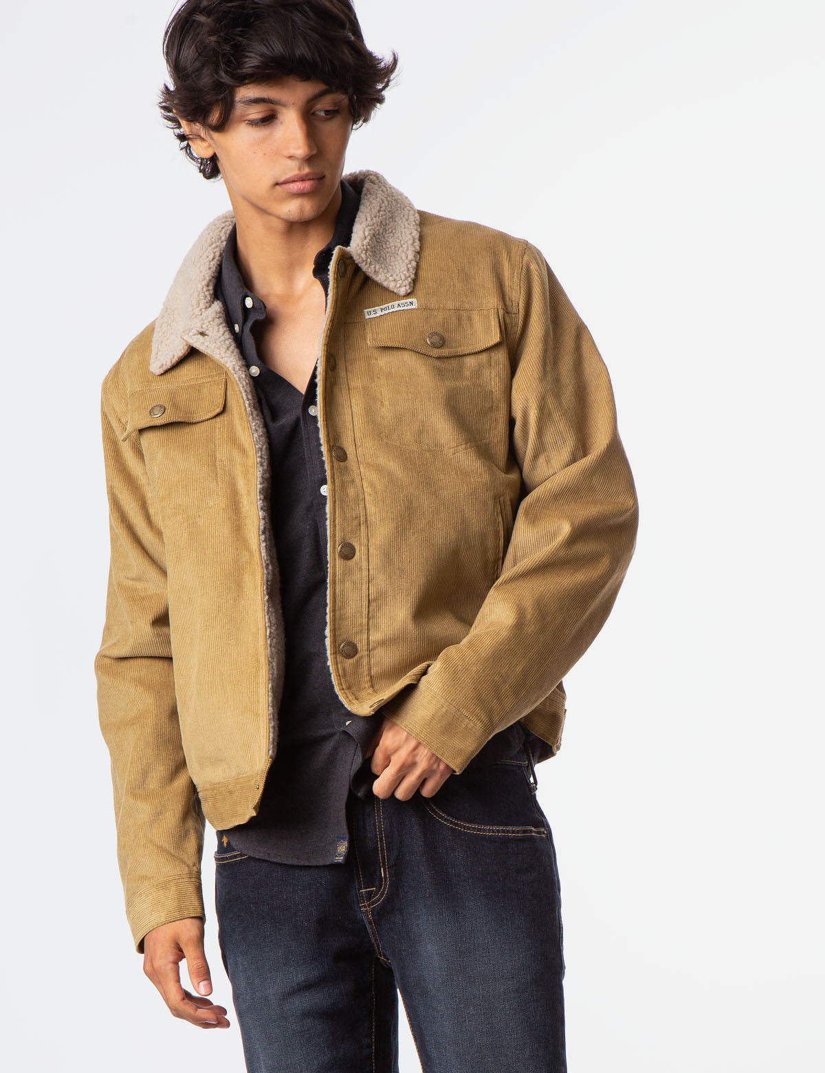 CANVAS CORDUROY JACKET - U.S. Polo Assn.