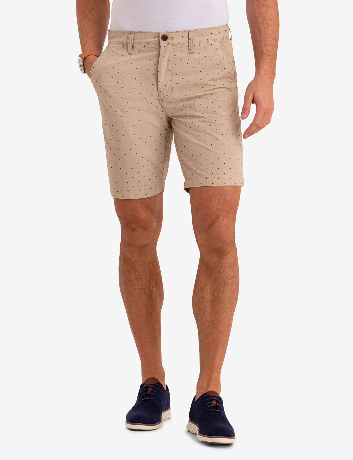 MASON DOT PRINT TWILL SHORTS - U.S. Polo Assn.