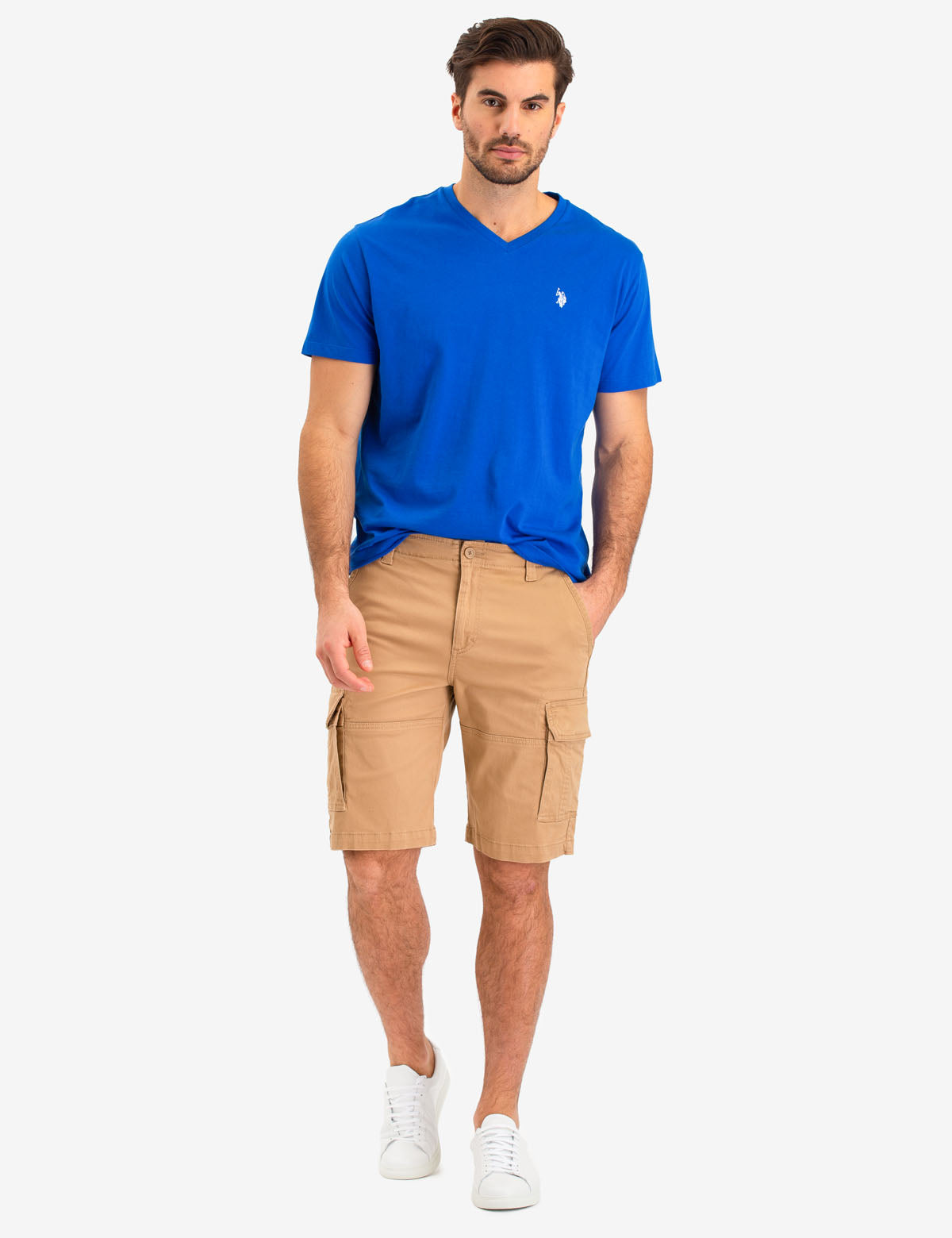 CARGO STRETCH TWILL SHORTS - U.S. Polo Assn.