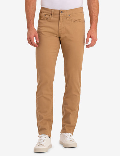 SLIM STRAIGHT 5 POCKET STRETCH CHINO PANTS - U.S. Polo Assn.