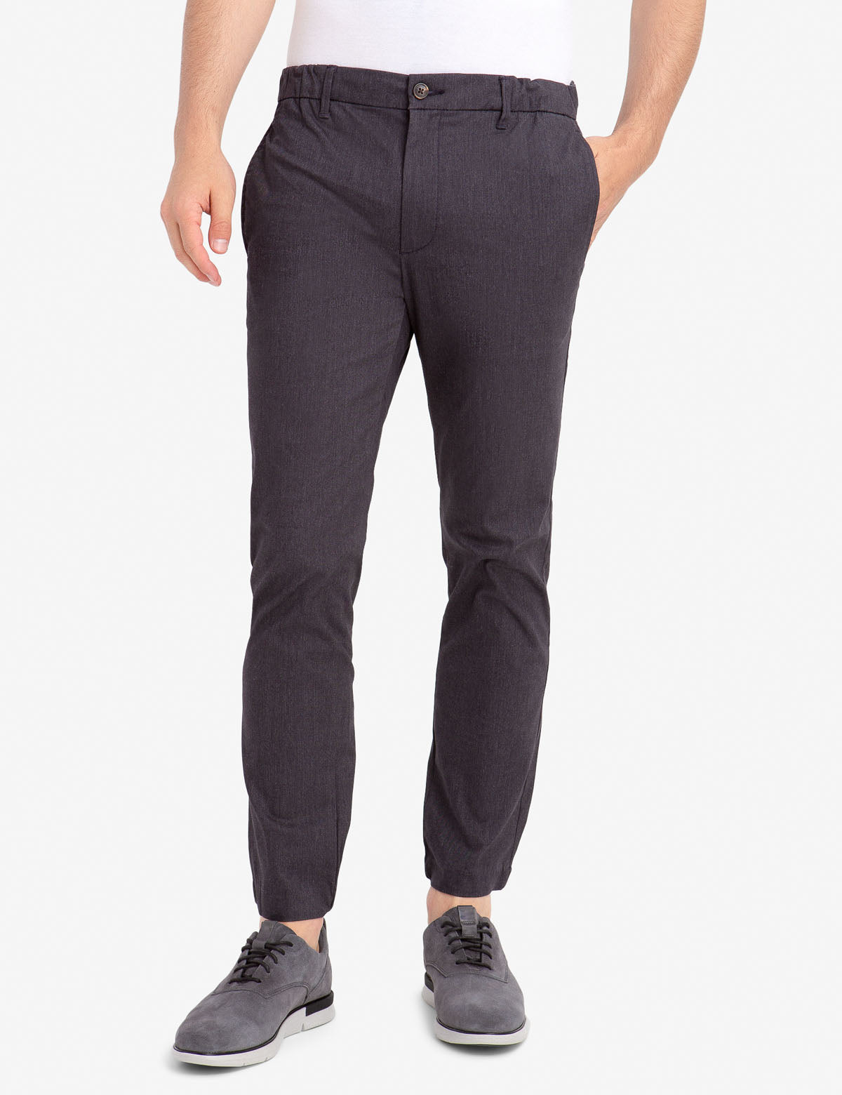 STRETCH TWILL JOGGERS - U.S. Polo Assn.