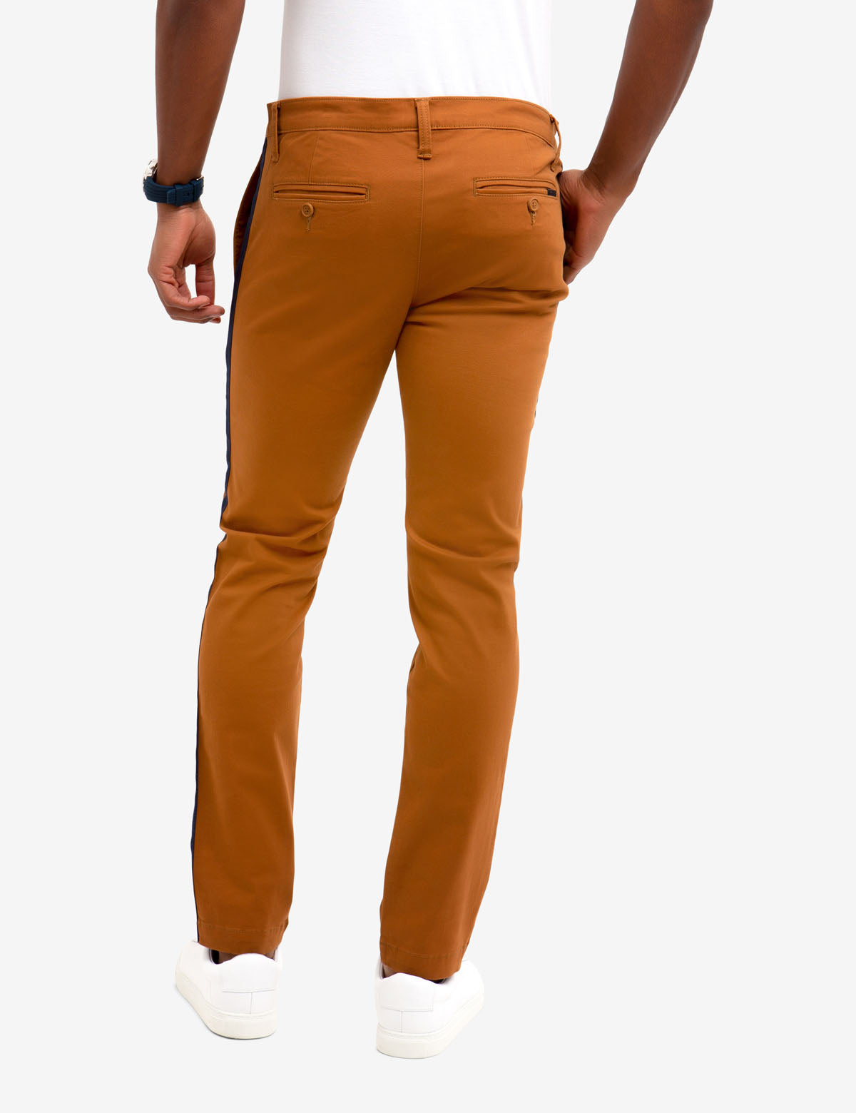 SKINNY SIDE TAPE CHINOS - U.S. Polo Assn.