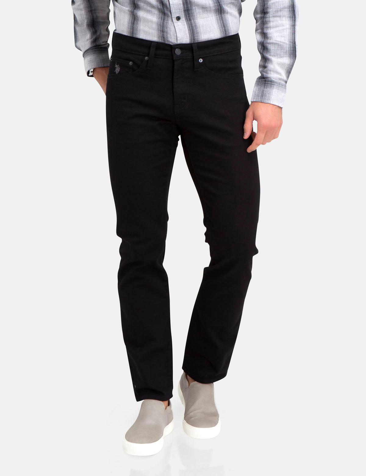 US Polo Association SLIM STRAIGHT FIT JEANS