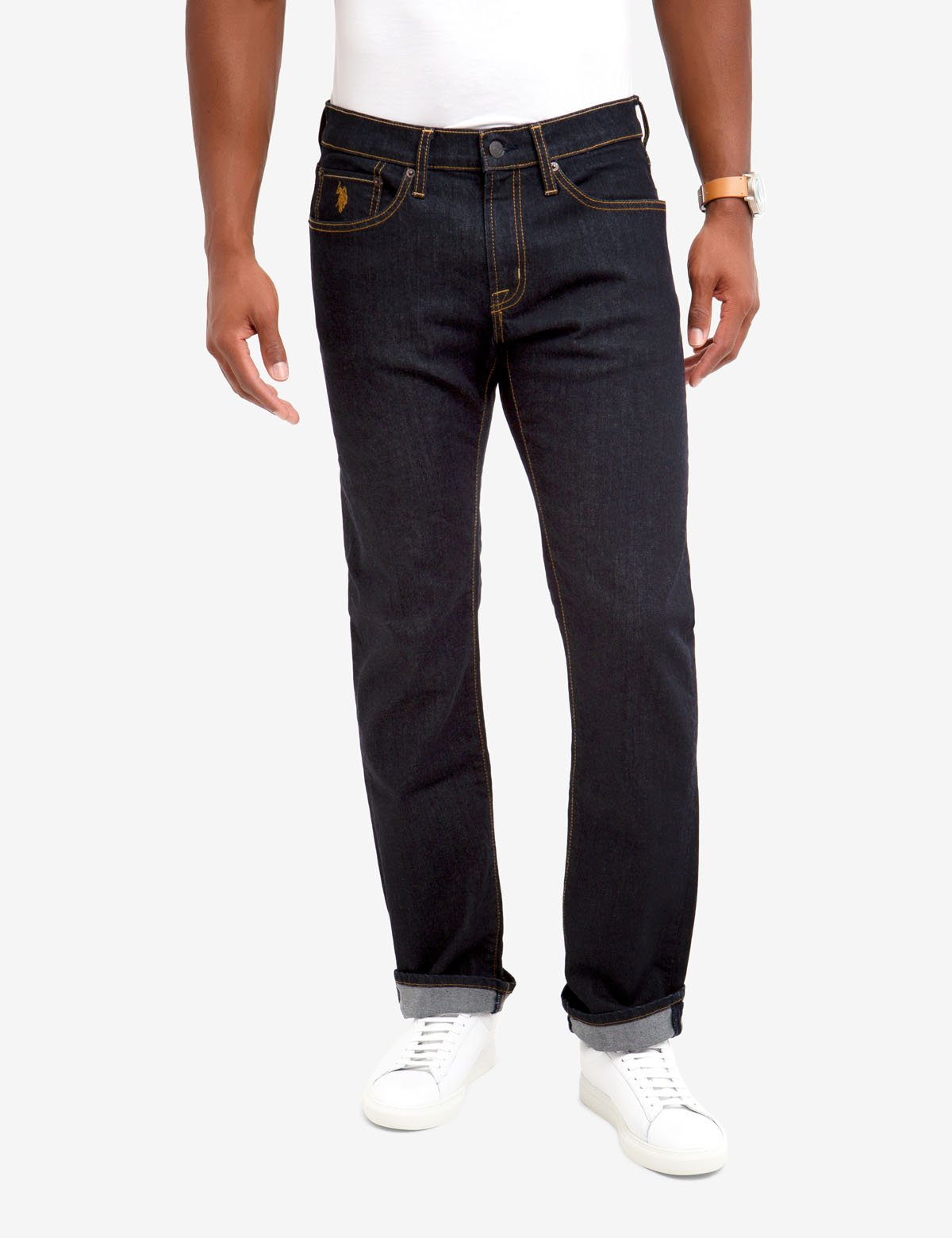 Mens Slim Straight Fit Jeans