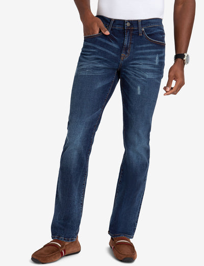 STRETCH SLIM STRAIGHT JEANS - U.S. Polo Assn.