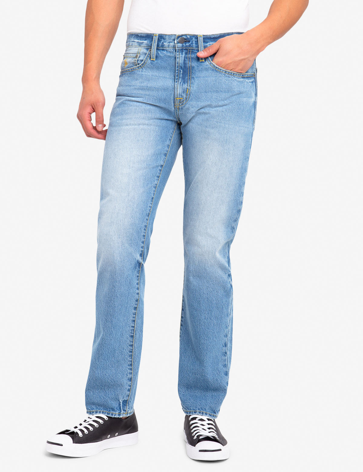 U.S. Polo Assn. - Mens Straight Fit Jeans