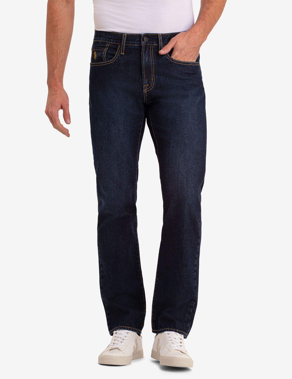 U.S. Polo Assn. - Mens Classic Straight Fit Jeans