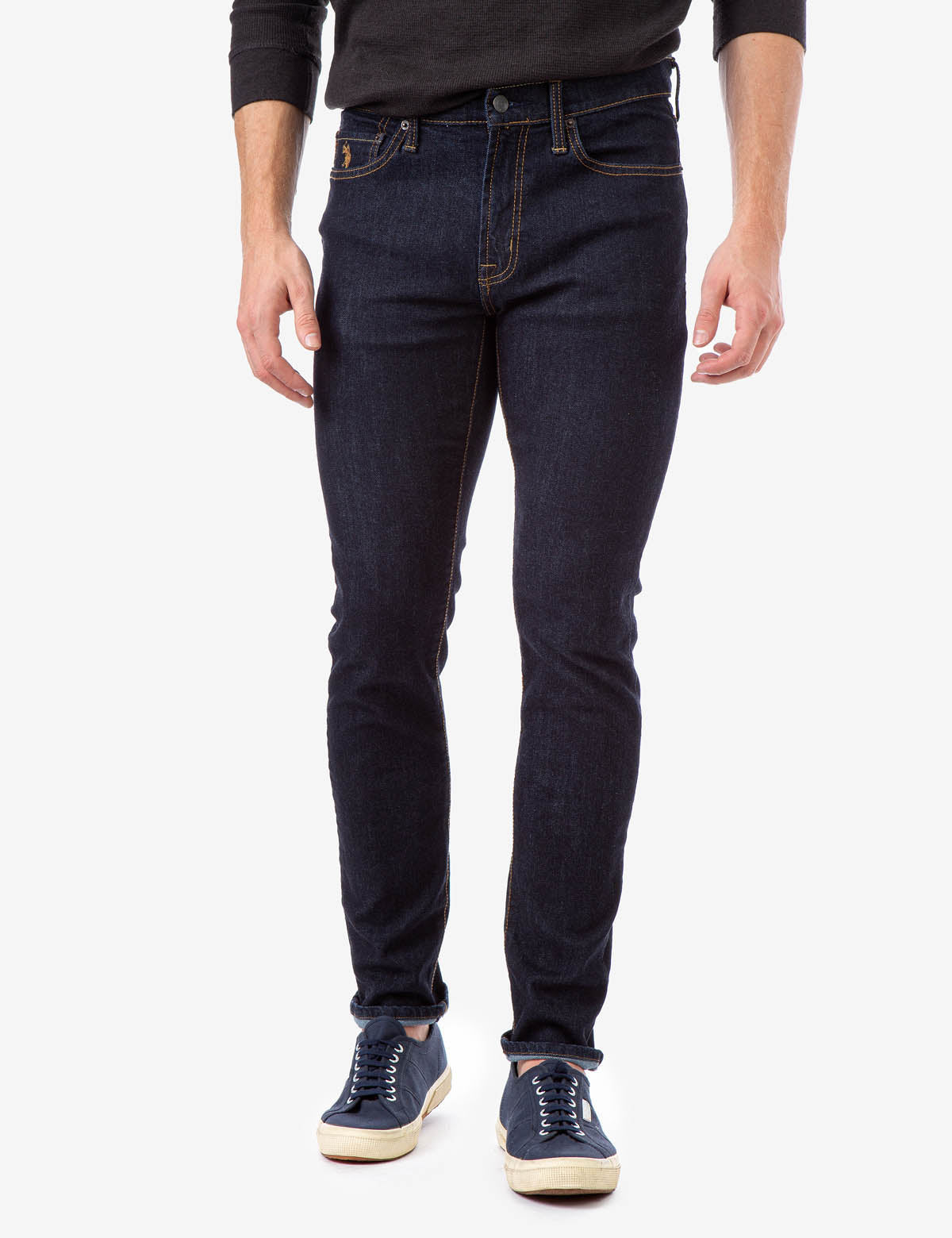 SKINNY STRETCH FIT JEANS - U.S. Polo Assn.