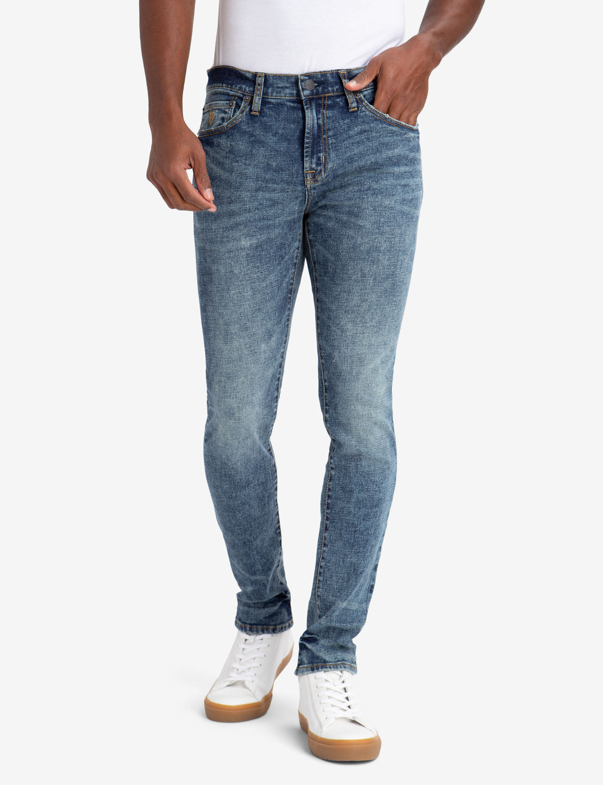 U.S. Polo Assn. - Mens Skinny Fit Stretch Jeans