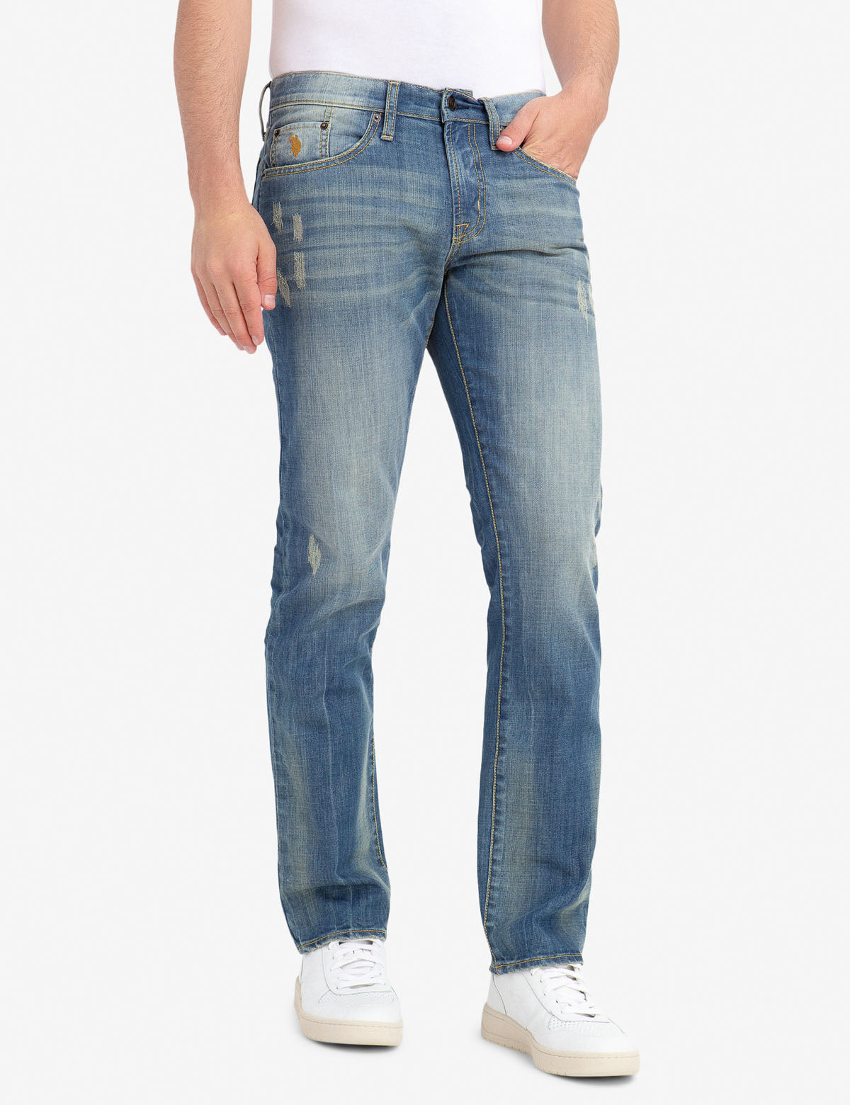 SLIM STRAIGHT 5 POCKET JEANS - U.S. Polo Assn.