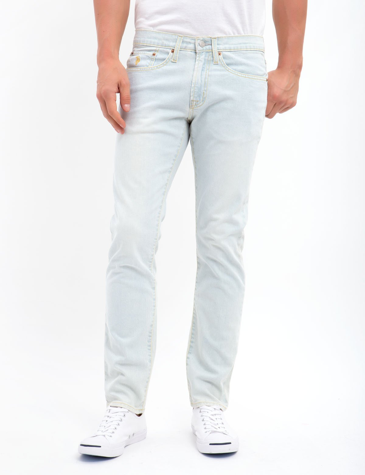 Mens Stretch Slim Jeans