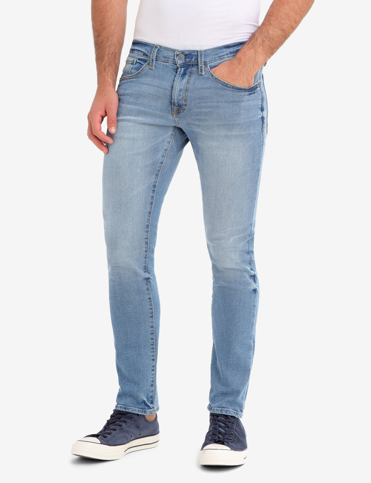 U.S. Polo Assn. - Mens Slim Stretch 5 Pocket Jeans