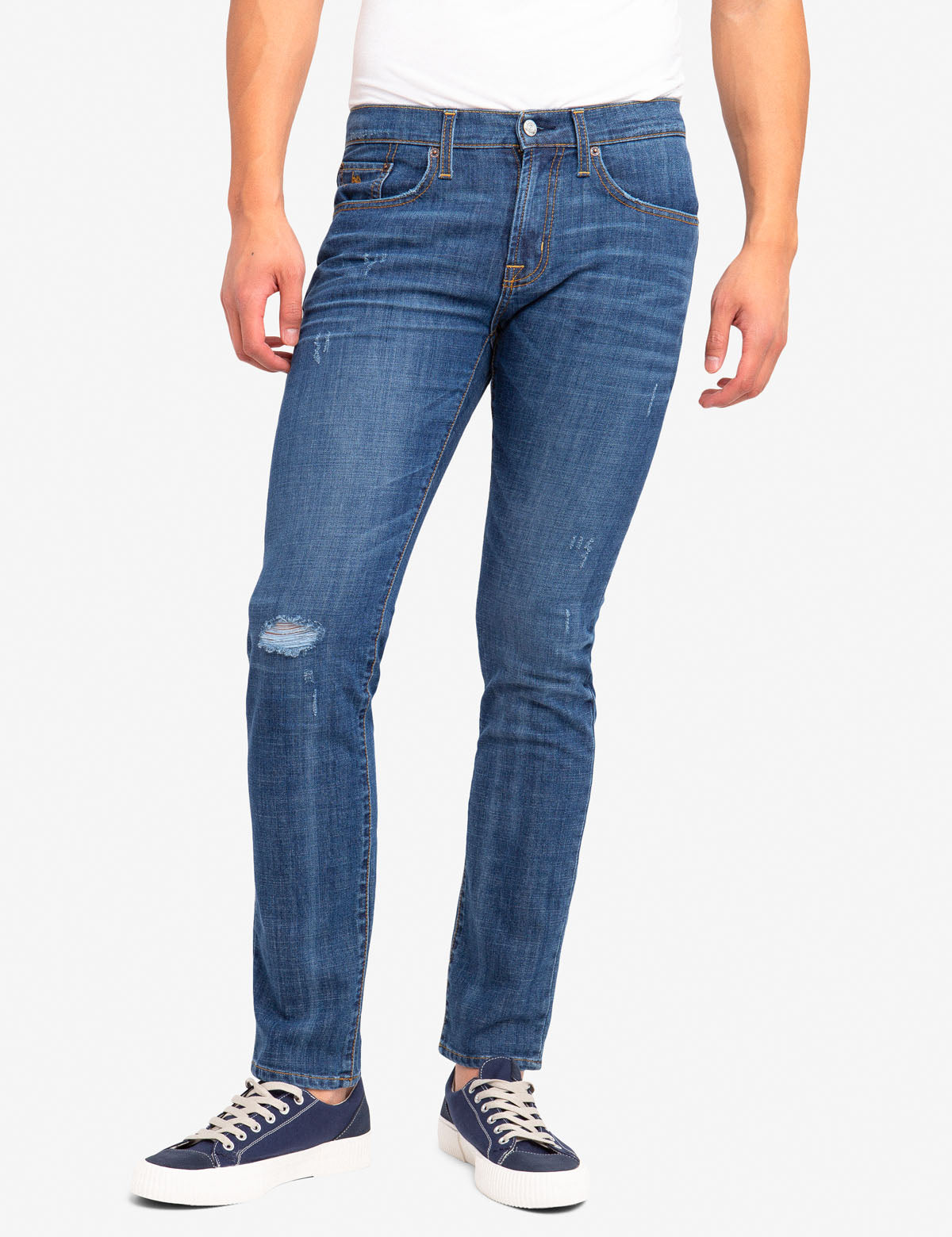SLIM STRETCH 5 POCKET JEANS