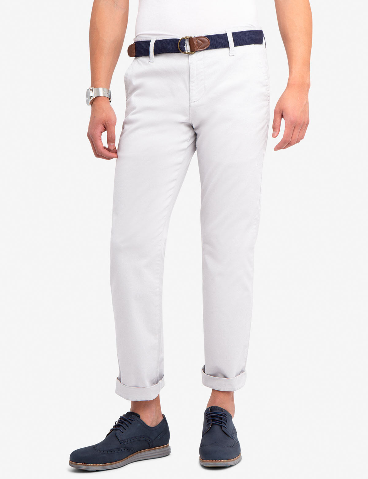 largest selection of enjoy complimentary shipping huge inventory SLIM STRAIGHT CHINO PANTS