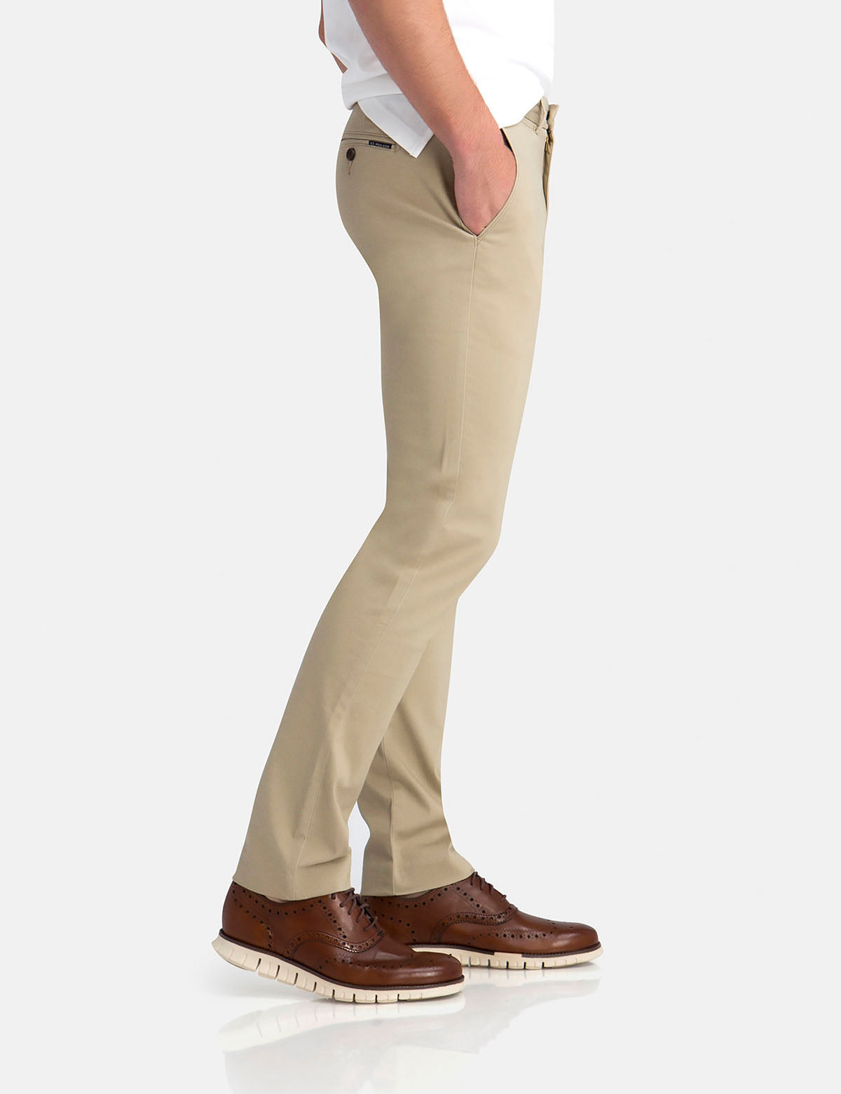 STRAIGHT SATEEN CHINOS - U.S. Polo Assn.