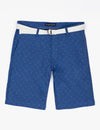 BELTED SWISS DOT SHORTS - U.S. Polo Assn.