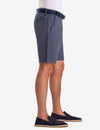 BELTED PRINTED CHAMBRAY SHORTS - U.S. Polo Assn.