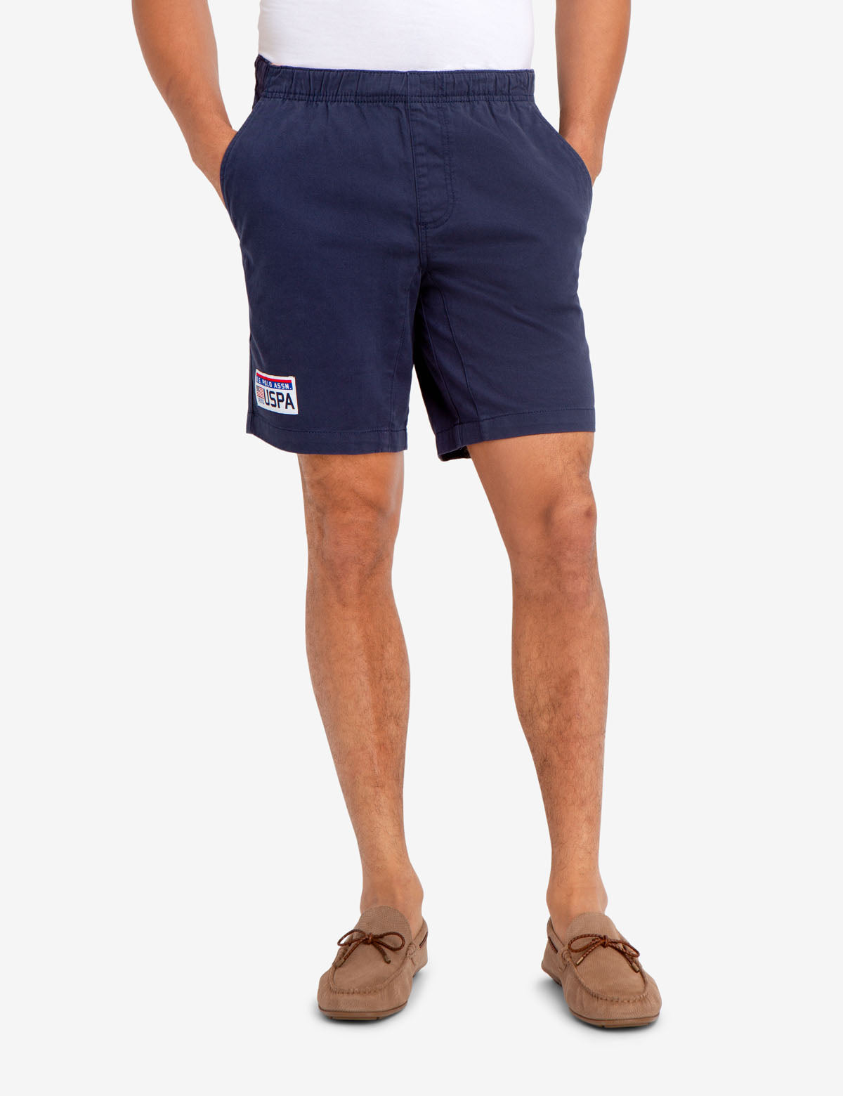 U.S. POLO ASSN. PATCH SHORTS