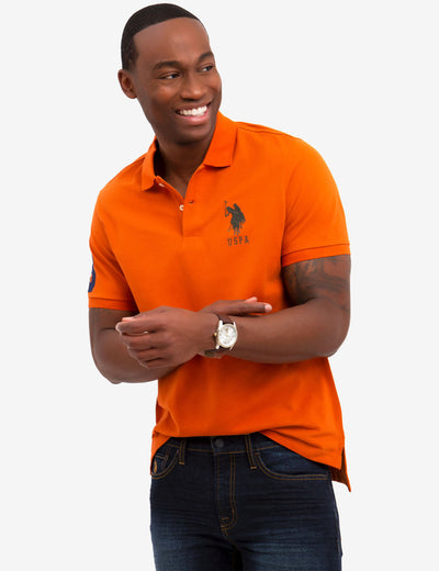 BIG LOGO PIQUE POLO SHIRT - U.S. Polo Assn.