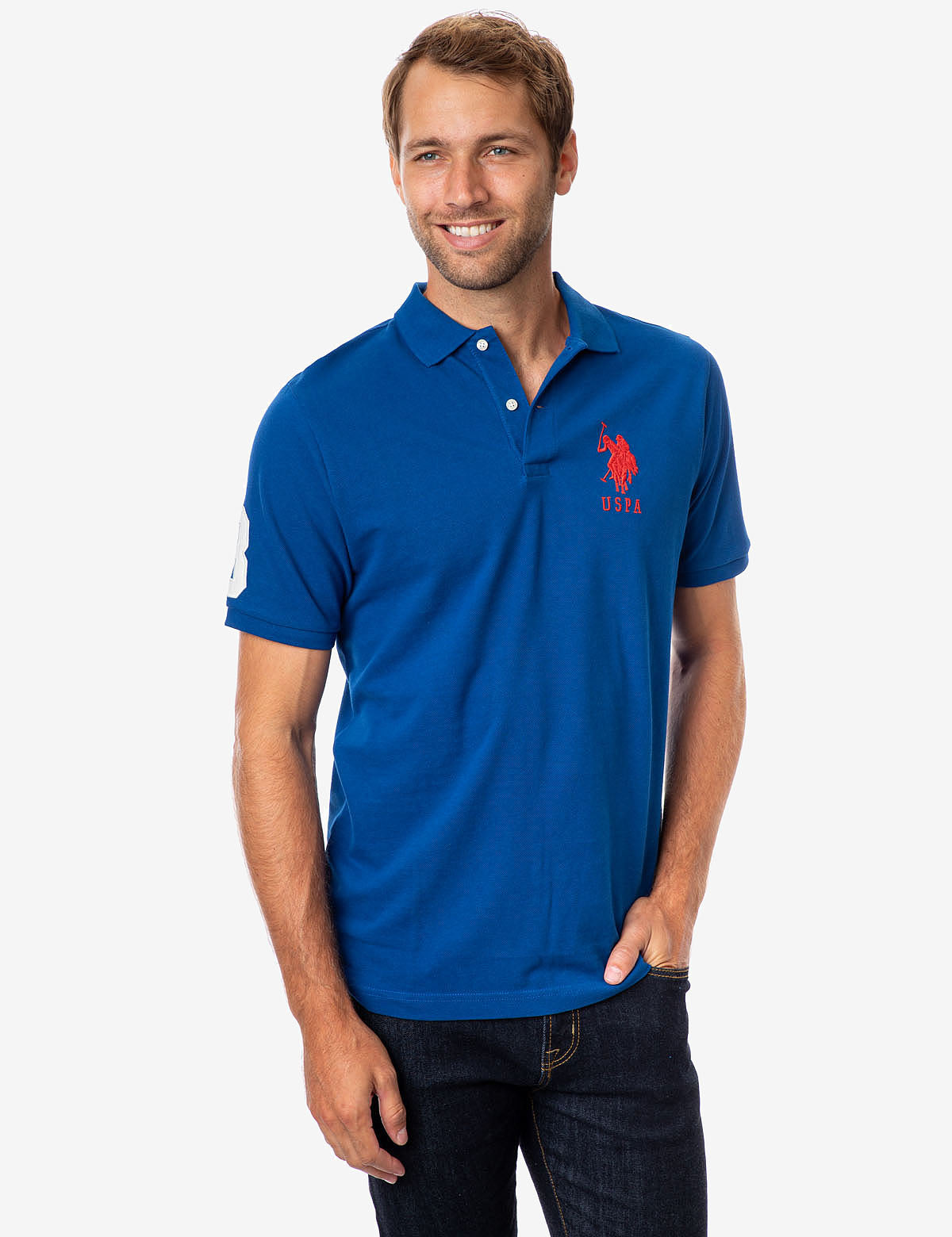 BIG LOGO POLO SHIRT - U.S. Polo Assn.