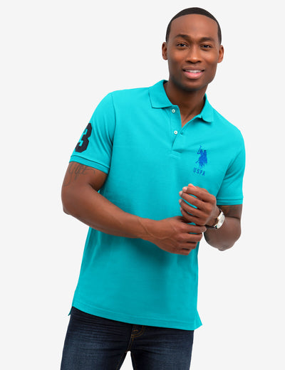 BIG PONY LOGO PIQUE POLO SHIRT - U.S. Polo Assn.