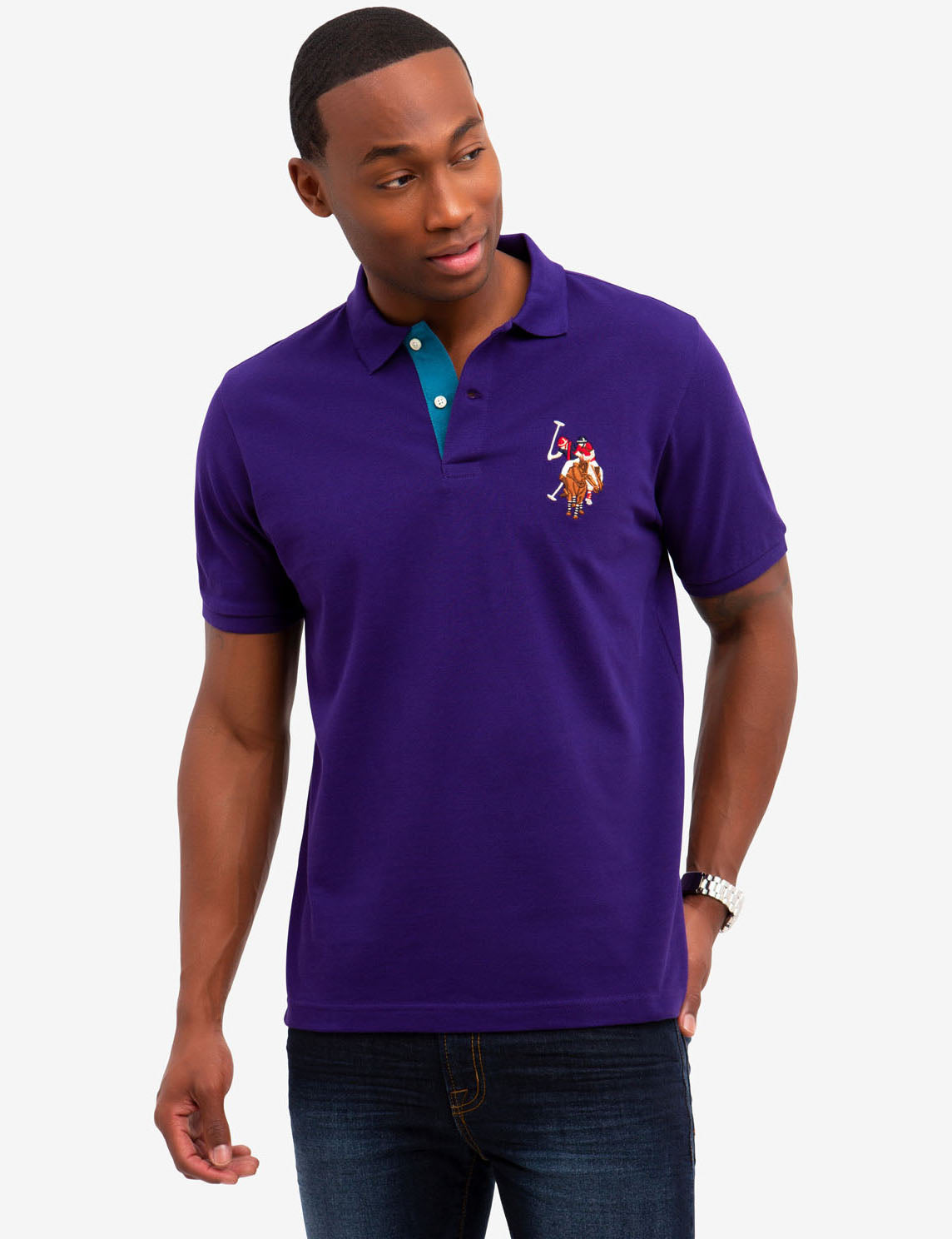 new release coupon code on sale MULTI COLOR BIG PONY POLO SHIRT