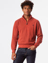 QUARTER ZIP SWEATER - U.S. Polo Assn.