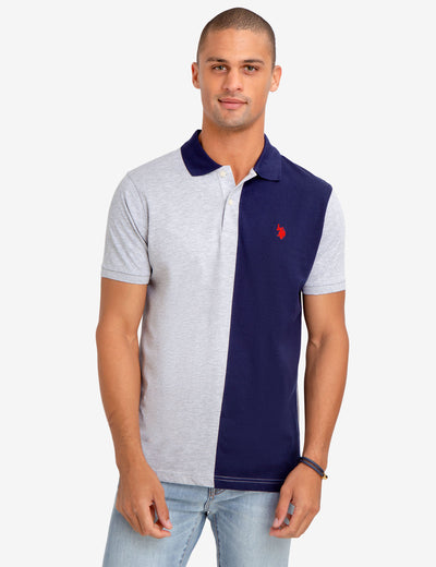 COLORBLOCK JERSEY POLO SHIRT - U.S. Polo Assn.