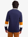 BLACK MALLET COLORBLOCK LONG SLEEVE POLO SHIRT - U.S. Polo Assn.
