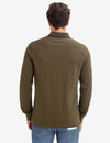 CHEST COLORBLOCK LONG SLEEVE POLO SHIRT - U.S. Polo Assn.
