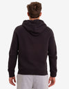 BLACK MALLET MAGIC DRAWSTRING LOGO ZIP HOODIE - U.S. Polo Assn.