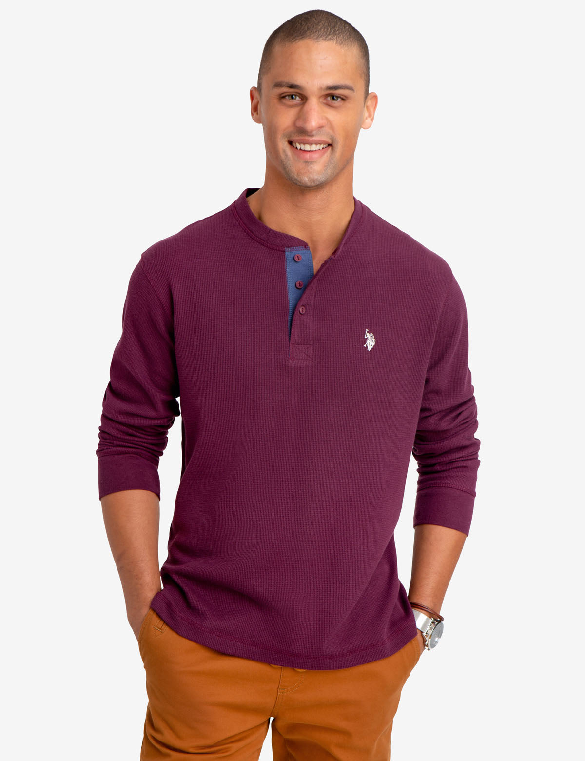THERMAL HENLEY - U.S. Polo Assn.