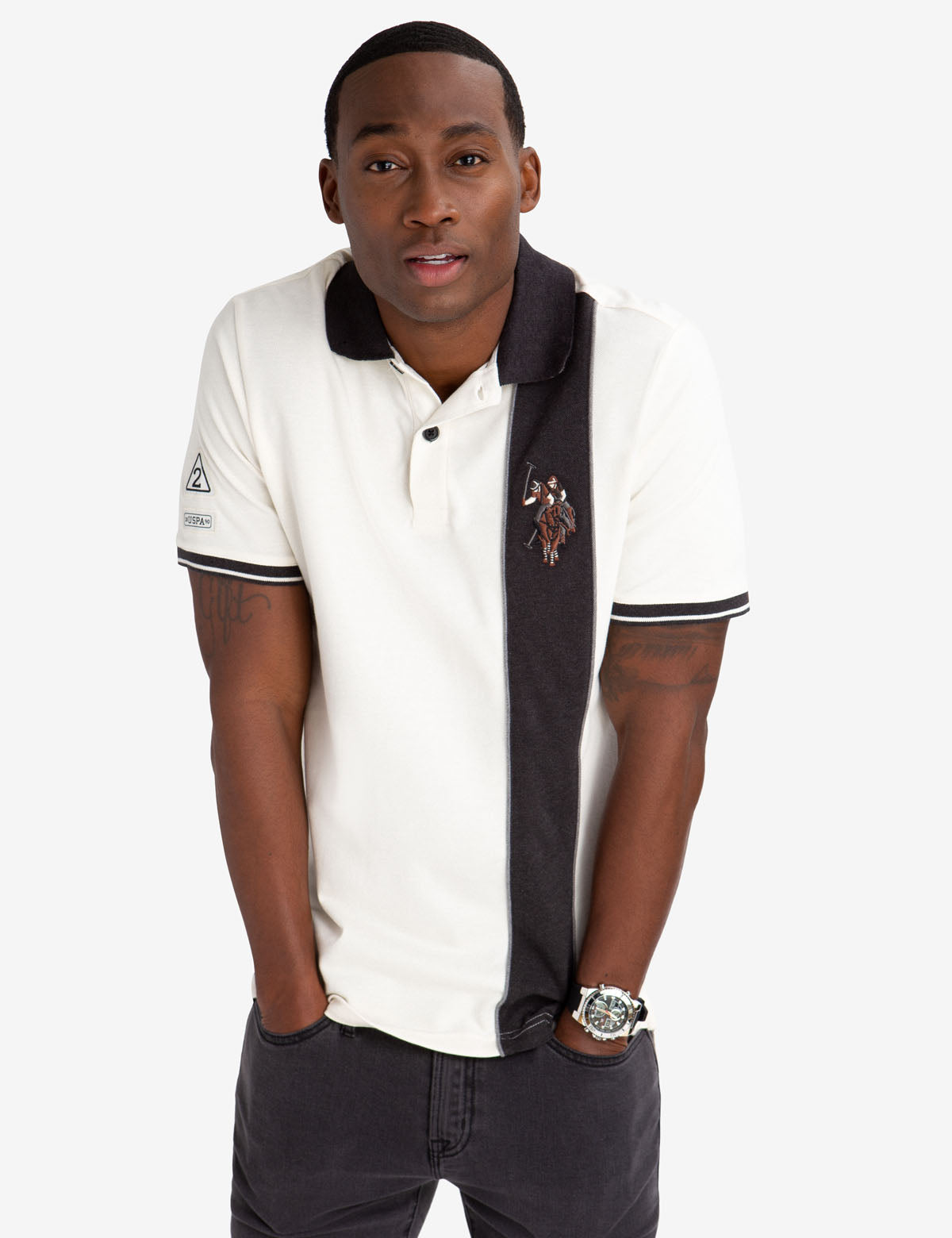 VERTICAL STRIPE POLO SHIRT - U.S. Polo Assn.