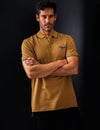 MARLED YARN POLO SHIRT WITH EMBROIDERED CREST - U.S. Polo Assn.