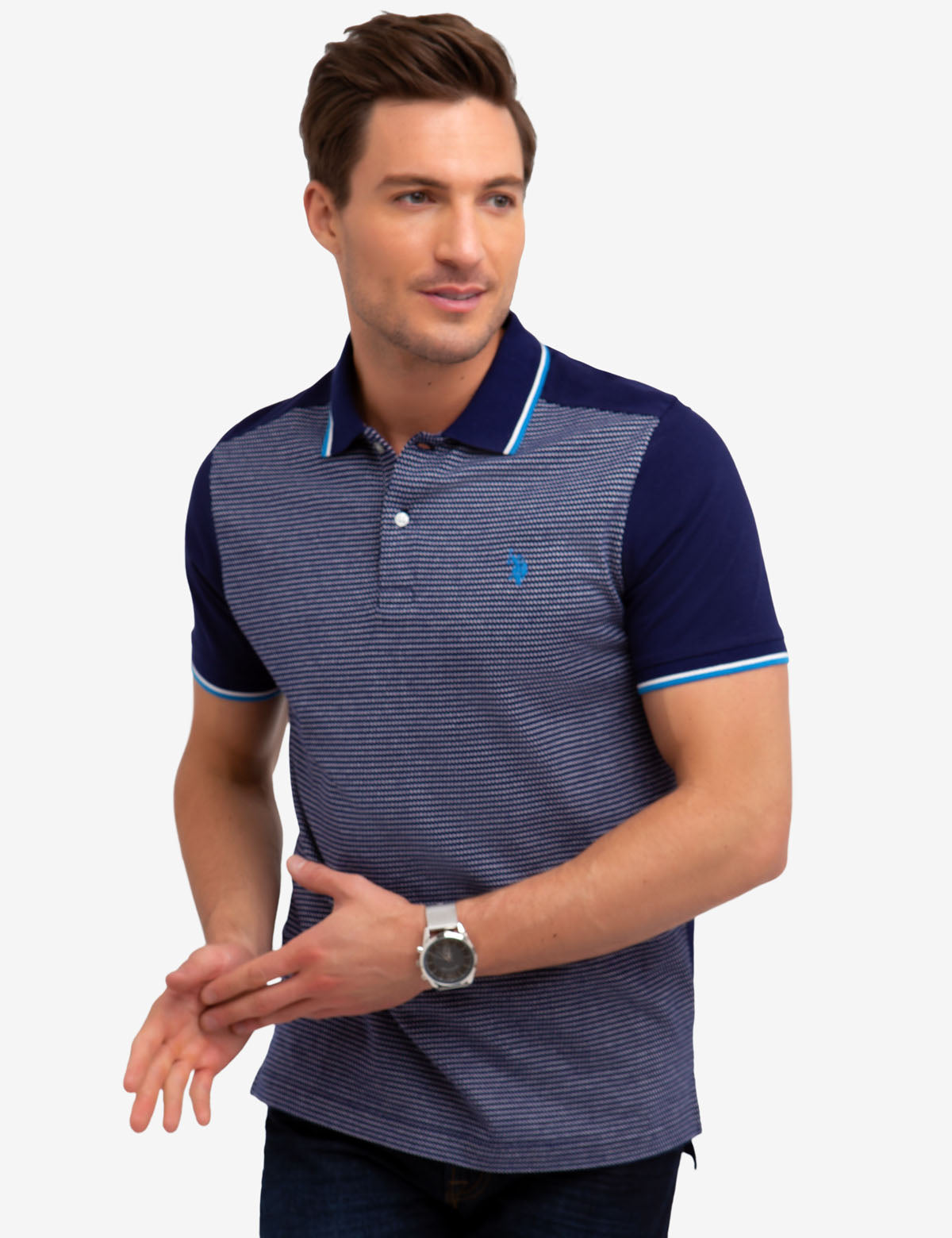 JAQUARD POLO SHIRT