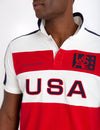USPA FELT PATCH COLORBLOCK POLO SHIRT - U.S. Polo Assn.