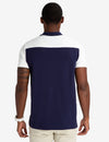 COLORBLOCK POLO SHIRT WITH RUBBER U.S. POLO ASSN. DETAIL - U.S. Polo Assn.